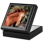 Red Horse Keepsake Box