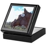 Waiting Horse Keepsake Box