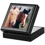 Two Horses Keepsake Box