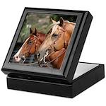 2 Western Horses Keepsake Box