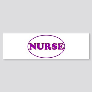 Purple on Purple Bumper Sticker