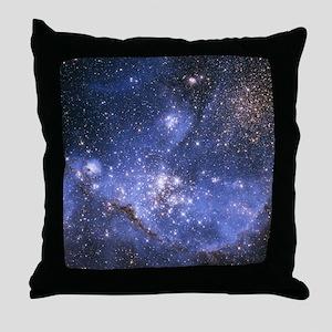 Magellan Nebula Throw Pillow