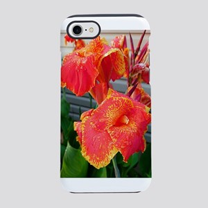 Orange Cannas iPhone 8/7 Tough Case