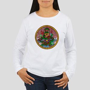 Tibetan Dragon Women's Long Sleeve T-Shirt