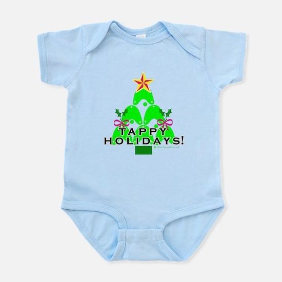 Tappy Holidays Christmas Tree Infant Bodysuit