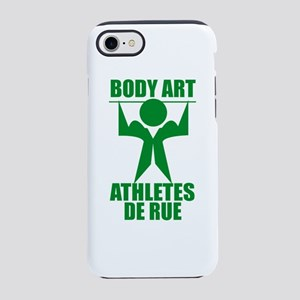 body art athlete de rue iPhone 8/7 Tough Case