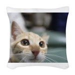 Kirara-chan Woven Throw Pillow