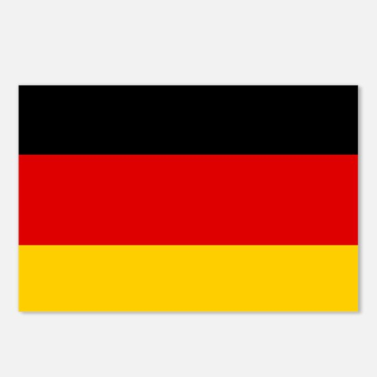 Flag: Germany Postcards (Package of 8)