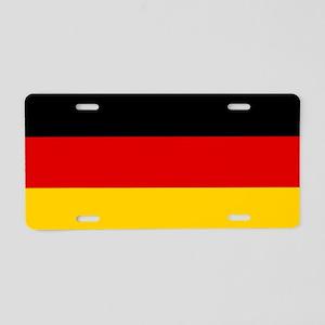 Flag: Germany Aluminum License Plate