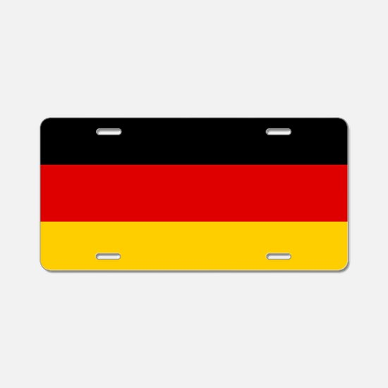 Flag: Germany Aluminum License Plate