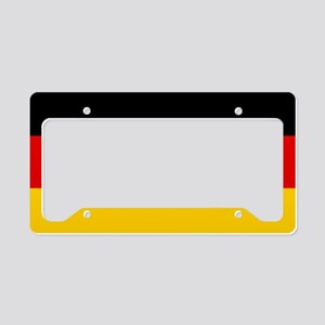 Flag: Germany License Plate Holder