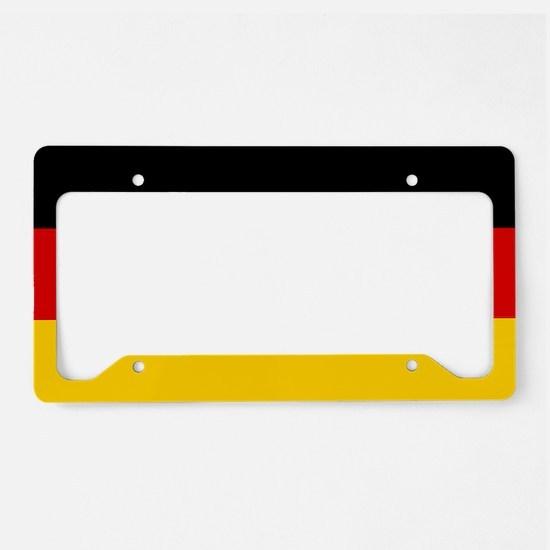 Flag: Germany License Plate Holder