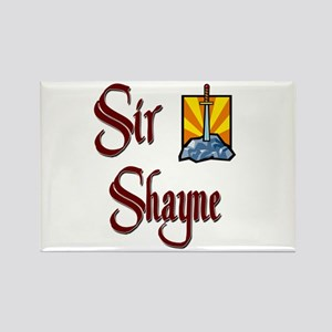 Sir Shayne Rectangle Magnet