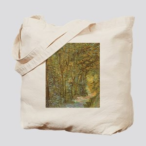 Van Gogh Path in Woods Tote Bag