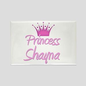 Princess Shayna Rectangle Magnet