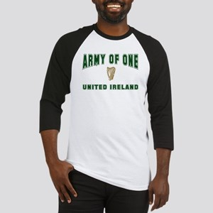 """Army of One- United Ireland"" Baseball Jersey"