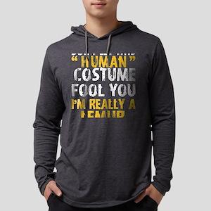 Halloween Dont Human Costume F Long Sleeve T-Shirt