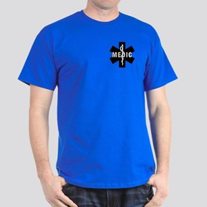 Medic EMS Star Of Life Dark T-Shirt