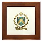PELLETIER Family Crest Framed Tile