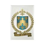 PELLETIER Family Crest Rectangle Magnet (100 pack)