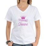 Princess Shauna Women's V-Neck T-Shirt