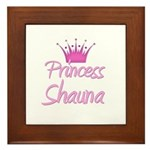 Princess Shauna Framed Tile