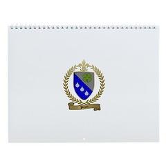 PEPIN Family Crest Wall Calendar