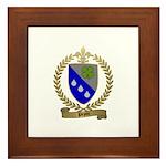 PEPIN Family Crest Framed Tile