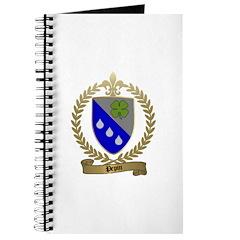 PEPIN Family Crest Journal