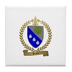 PEPIN Family Crest Tile Coaster