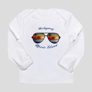 Rhode Island - Weekapaug Long Sleeve T-Shirt