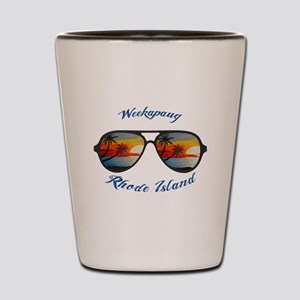 Rhode Island - Weekapaug Shot Glass