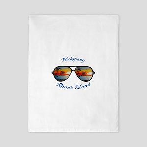 Rhode Island - Weekapaug Twin Duvet Cover