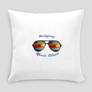Rhode Island - Weekapaug Everyday Pillow