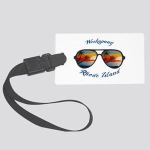Rhode Island - Weekapaug Large Luggage Tag