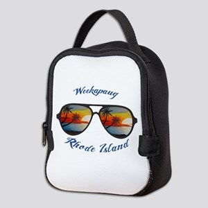 Rhode Island - Weekapaug Neoprene Lunch Bag