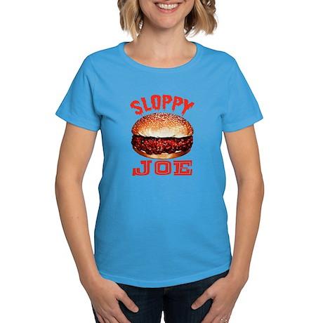 Painted Sloppy Joe Women's Dark T-Shirt