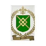 PERRON Family Crest Rectangle Magnet