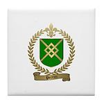 PERRON Family Crest Tile Coaster