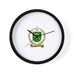 PERRON Family Crest Wall Clock