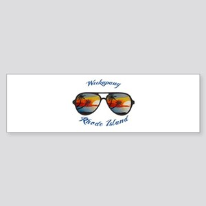 Rhode Island - Weekapaug Bumper Sticker