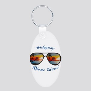 Rhode Island - Weekapaug Keychains