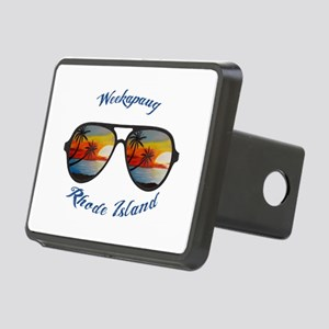 Rhode Island - Weekapaug Rectangular Hitch Cover