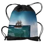 End Of The World Drawstring Bag