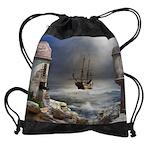Pirate Bay Drawstring Bag