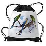 Macaw Parrots Drawstring Bag