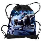 Dinosaur Fantasy Drawstring Bag