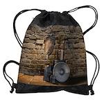 Medieval Weaponry Drawstring Bag