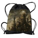 Gothic Castle Drawstring Bag