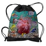 Tropical Fish Drawstring Bag